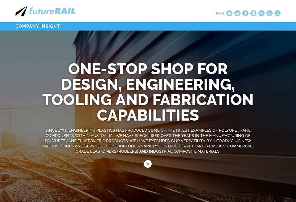 Engineering Plastics Company Insight - Future Rail | Issue