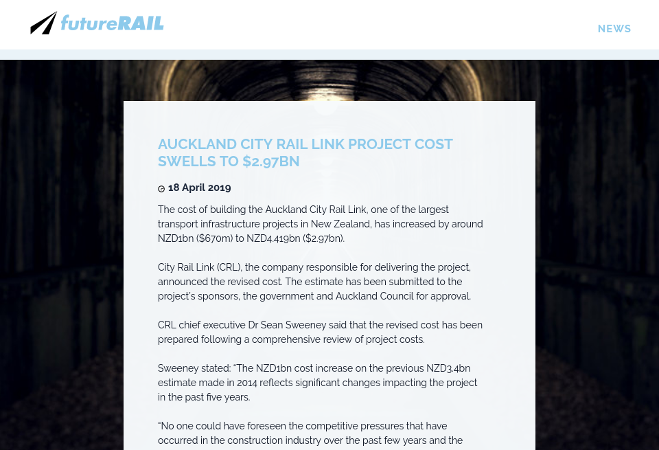 News - Future Rail | Issue 73 | May 2019