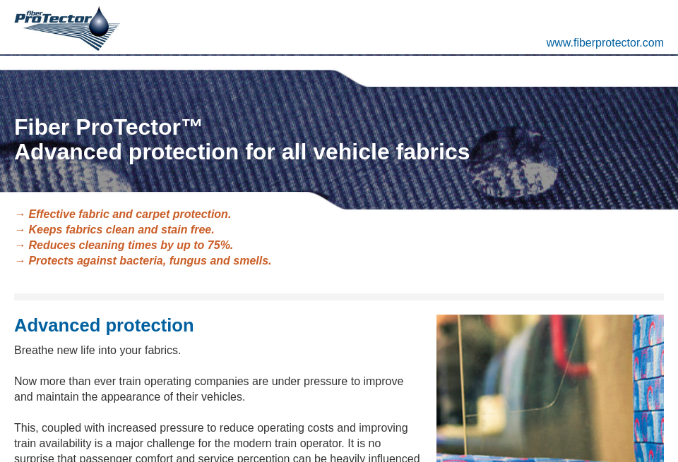 Fiber Protector Norge Future Rail Issue 66 October 2018